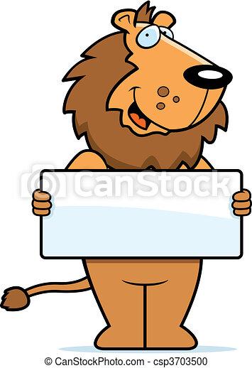 Lion Sign - csp3703500