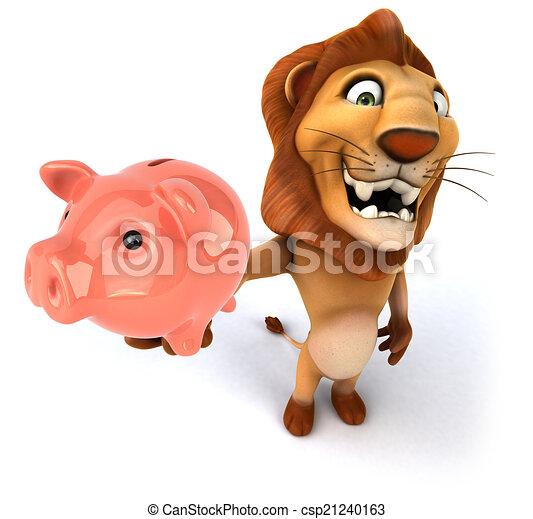 Lion - csp21240163