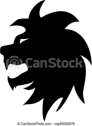 lion symbol - csp50025976
