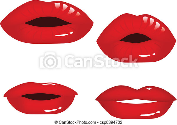 Lips collection - csp8394782