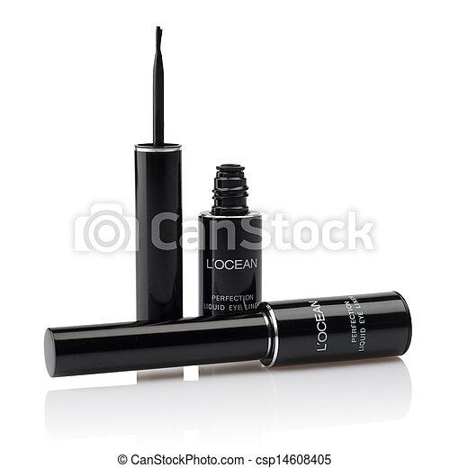 Liquid eyeliner brush - csp14608405