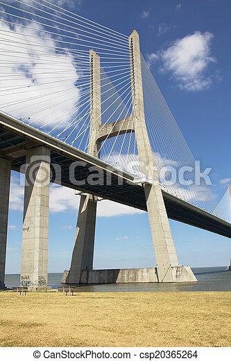 Lisbon Bridge - csp20365264