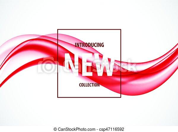 Una plantilla de diseño de arte abstracto - csp47116592