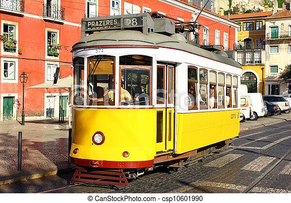lissabon, alfama, portugal - csp10601990