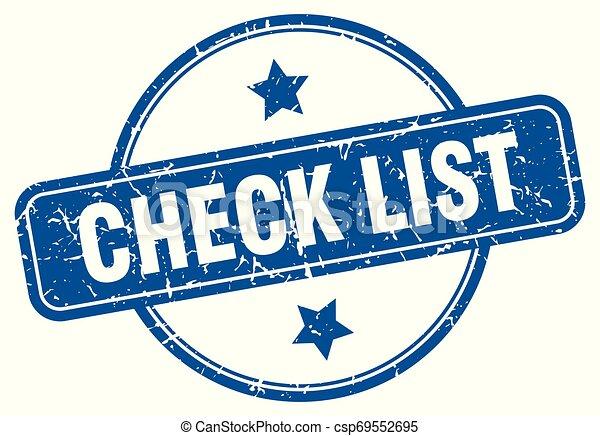 Lista de comprobación - csp69552695