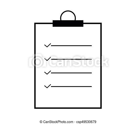 Lista de comprobación - csp49530679