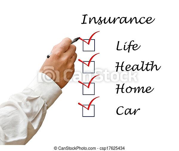 Lista de seguros - csp17625434