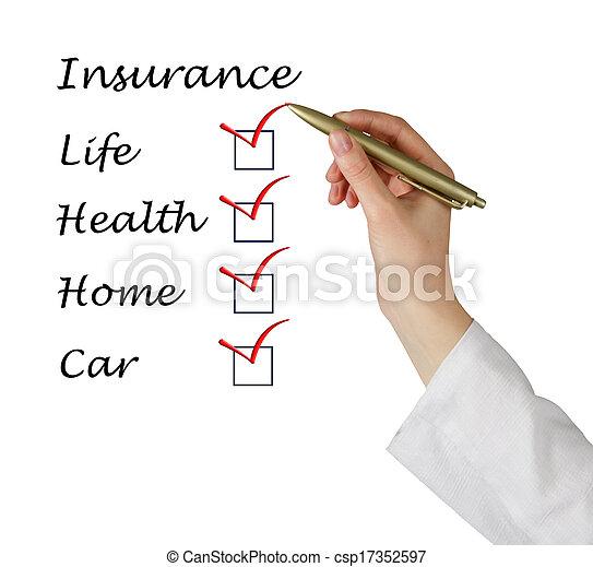Lista de seguros - csp17352597