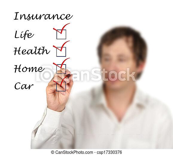 Lista de seguros - csp17330376