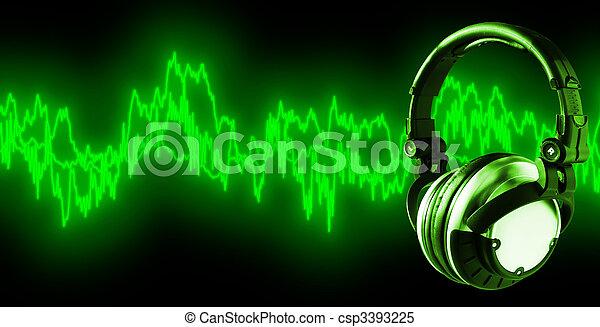 Listen To Music (+clipping path, XXL) - csp3393225