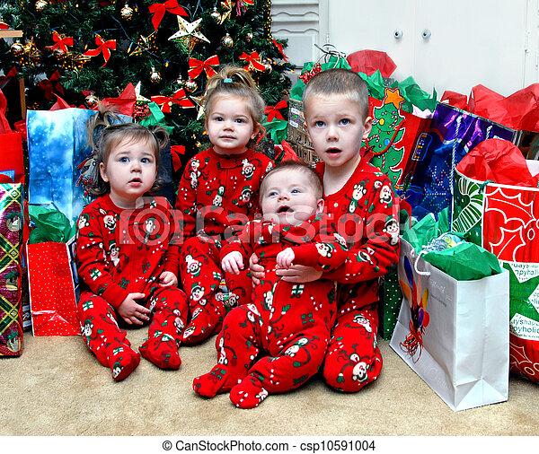 Listening for Santa Claus - csp10591004