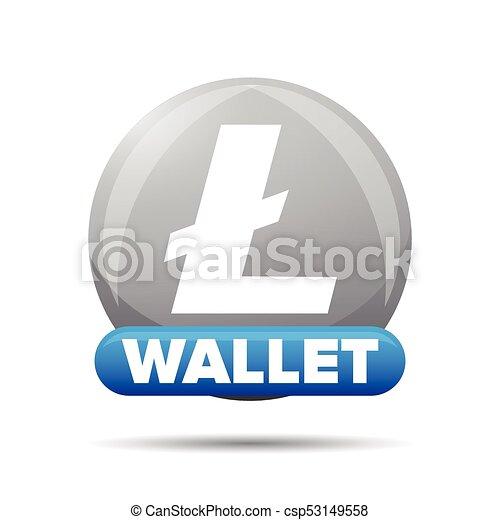 Litecoin wallet button sign