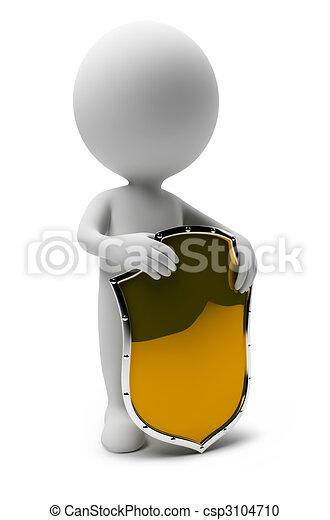 liten, people-shield, 3 - csp3104710