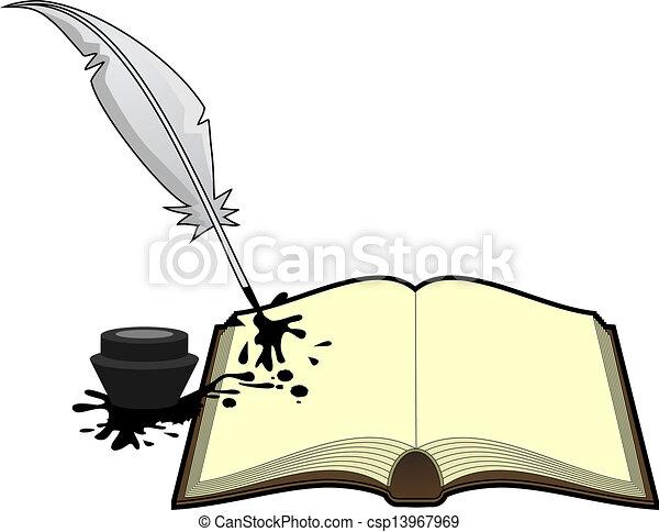 Literature book - csp13967969