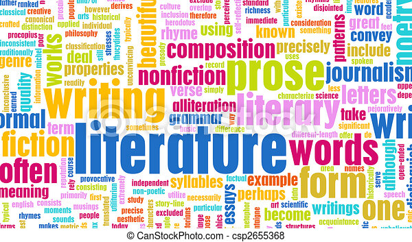 Literature Modern Education Background As A Art Stock