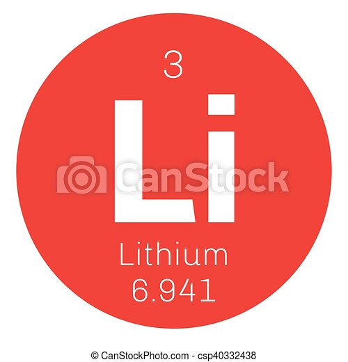 Lithium Chemical Element The Lightest Metal Belongs To Alkali