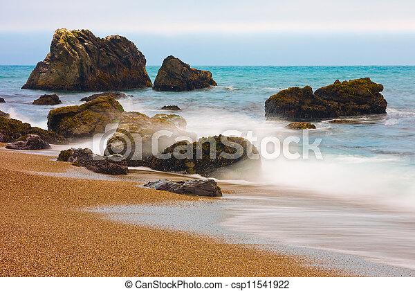 litoral california - csp11541922