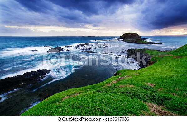 litoral, deslumbrante - csp5617086