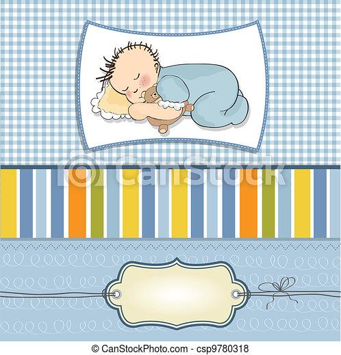 little baby boy sleep  - csp9780318
