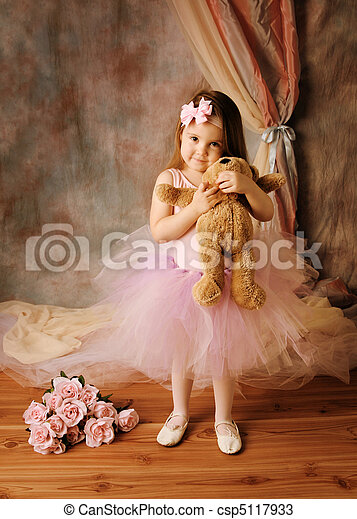Little ballerina beauty - csp5117933