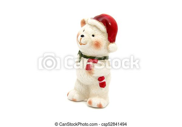 Little bear christmas tree toy - csp52841494