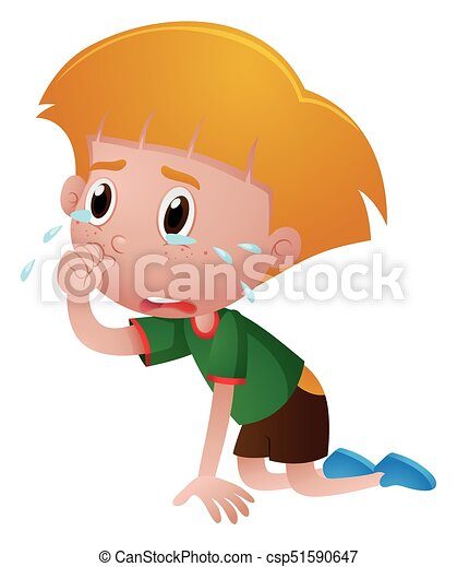 little boy crying with tears illustration eps vector search clip rh canstockphoto com clip art little boy fishing clip art little boy fishing