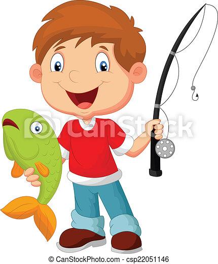 vector illustration of little boy fishing rh canstockphoto com little boy peeing clipart little drummer boy clipart