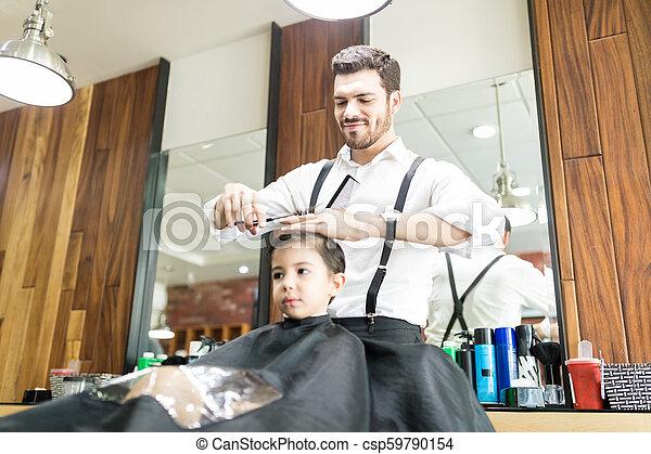Getting A Haircut 52