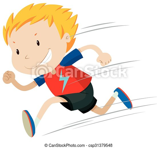 little boy running alone illustration eps vector search clip art rh canstockphoto com boy running free clipart boy running away clipart