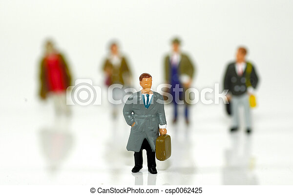 Little Business People 3 - csp0062425