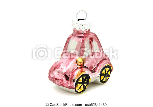 Little car christmas tree toy - csp52841489
