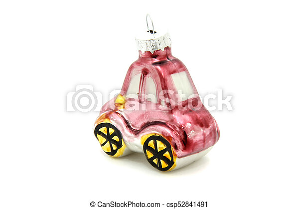 Little car christmas tree toy - csp52841491