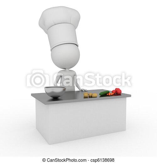 little chef - csp6138698