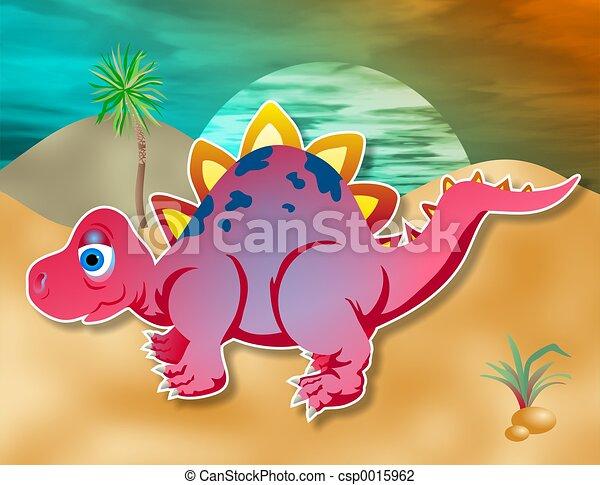 Little Dino - csp0015962