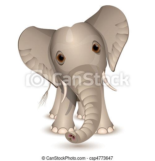 Little elephant - csp4773647