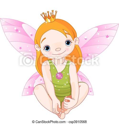 Little Fairy Princess - csp3910568