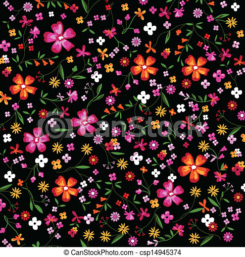 little floral print floral seamless background