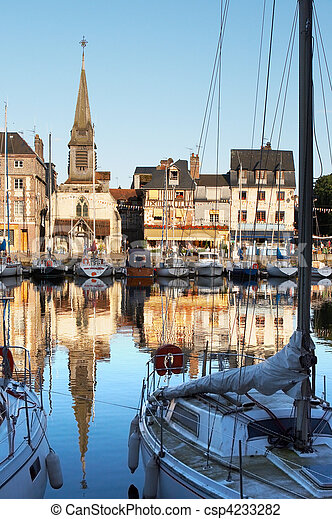 Little French port - csp4233282