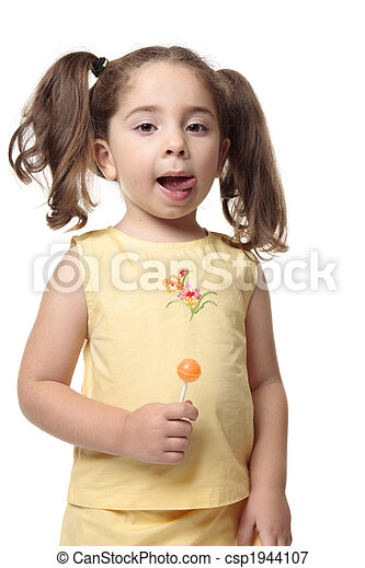 Astounding Little Girl Licking Lips Delicious A Little Girl Licks Her Lips Natural Hairstyles Runnerswayorg