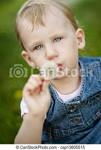 Little girl - csp13605515