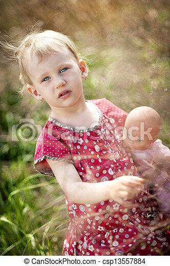 Little girl - csp13557884