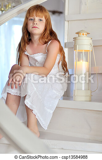 Little girl - csp13584988