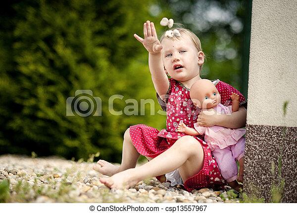 Little girl - csp13557967