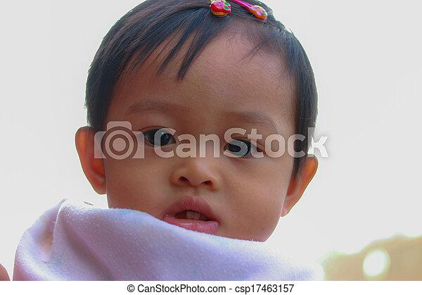 Little girl - csp17463157
