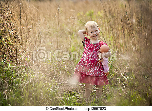 Little girl - csp13557823