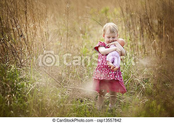 Little girl - csp13557842