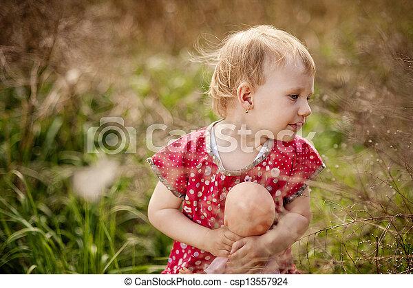 Little girl - csp13557924