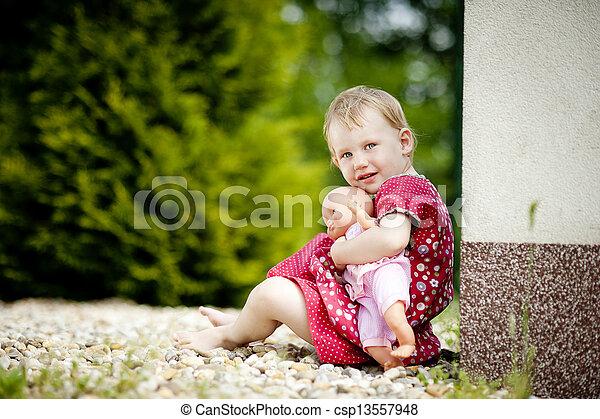 Little girl - csp13557948