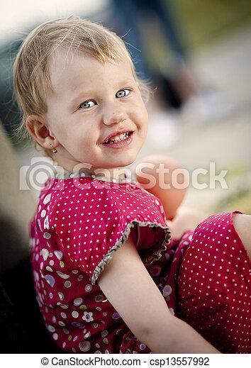 Little girl - csp13557992