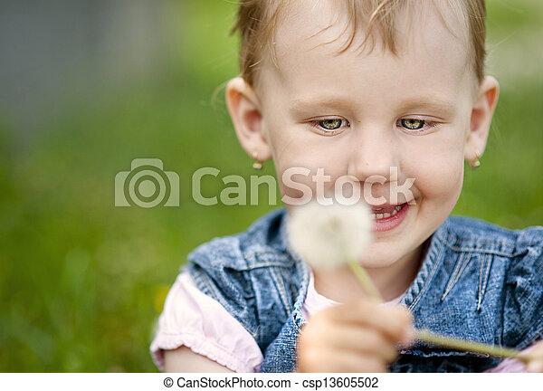 Little girl - csp13605502